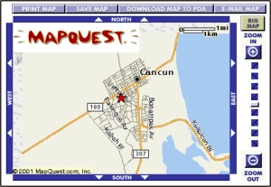 click here for the mapquest cancun map